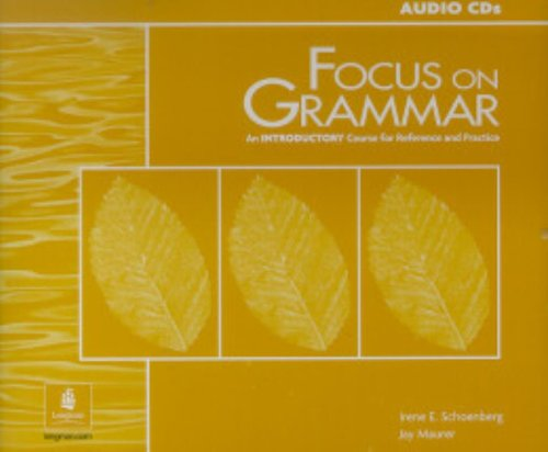 9780130874566: Focus on Grammar:  An Introductory Course for Reference and Practice (Audio CDs)