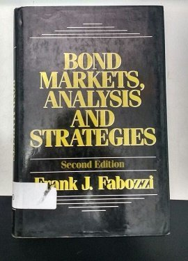 9780130874795: Bond Markets, Analysis and Strategies