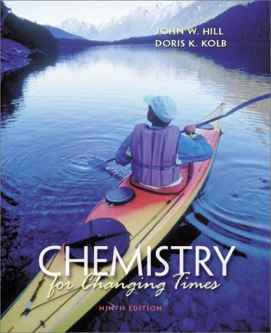 9780130874894: Chemistry for Changing Times (9th Edition)