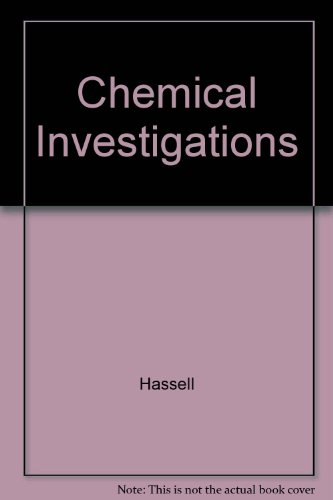 9780130874993: Chemical Investigations for Chemistry for Changing Times