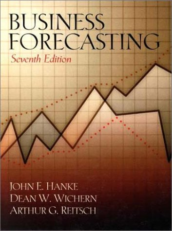 9780130878106: Business Forecasting (7th Edition)