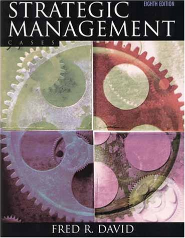 9780130879028: Strategic Management: Cases (8th Edition)