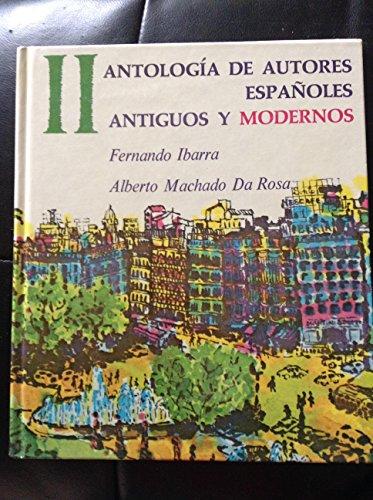 9780130879905: Antología de autores españoles: antiguos y modernos, Vol. 2
