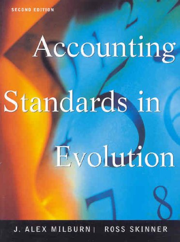 9780130880154: Accounting Standards in Evolution Cdn