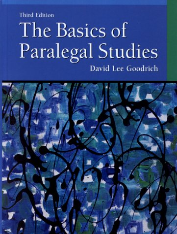 9780130883315: The Basics of Paralegal Studies (3rd Edition)
