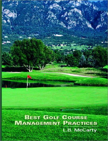 9780130883599: Best Golf Course Management Practices