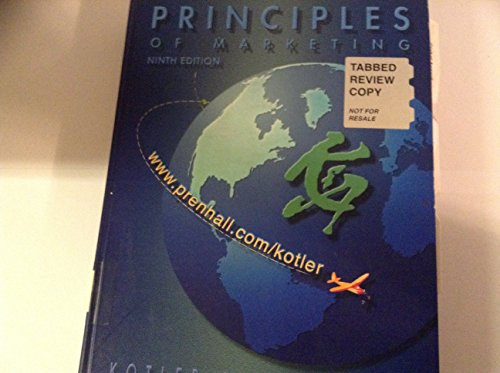 9780130883797: Principles of Marketing