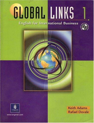 9780130883896: Global Links 1: English for International Business