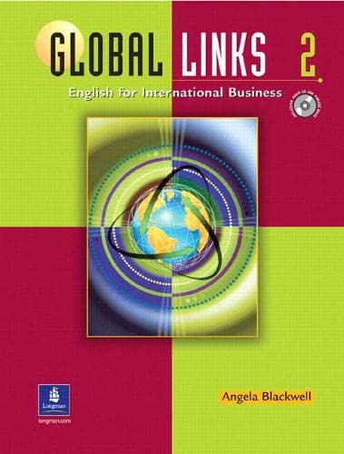 9780130883964: Global Links 2: English for International Business (Student Book with Audio CD and Phrase Book)