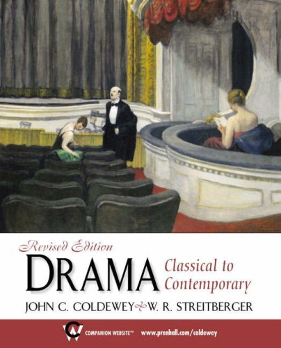 9780130884411: Drama: Classical to Contemporary, Revised Edition
