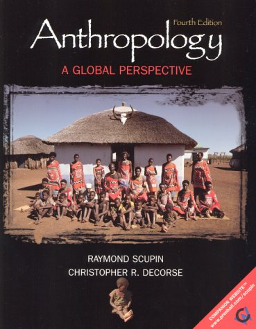 9780130885081: Anthropology:a Global Perspective