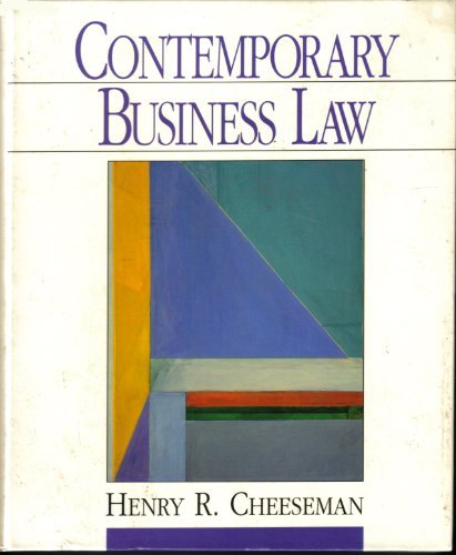 9780130886750: Contemporary Business Law