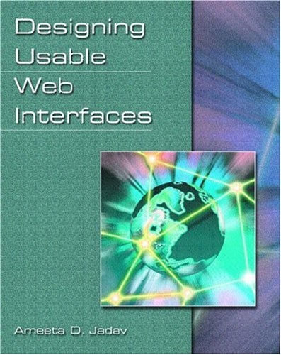 9780130888549: Designing Usable Web Interfaces