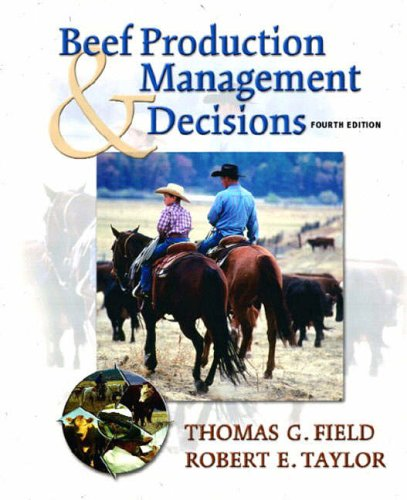 9780130888792: Beef Production and Management Decisions