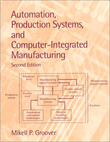 9780130889782: Automation, Production Systems, and Computer-Integrated Manufacturing (2nd Edition)