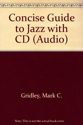 9780130889812: Concise Guide to Jazz