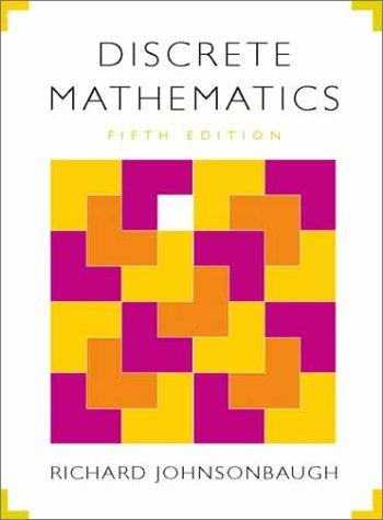 9780130890085: Discrete Mathematics (5th Edition)