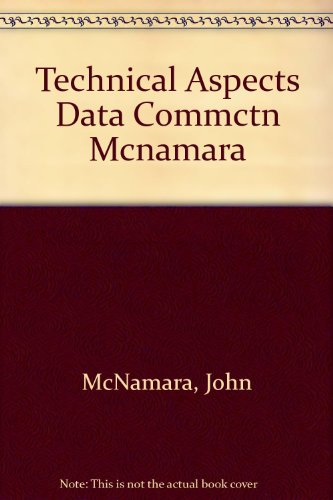 9780130891112: Technical Aspects of Data Communication