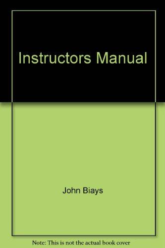9780130891358: Instructors Manual