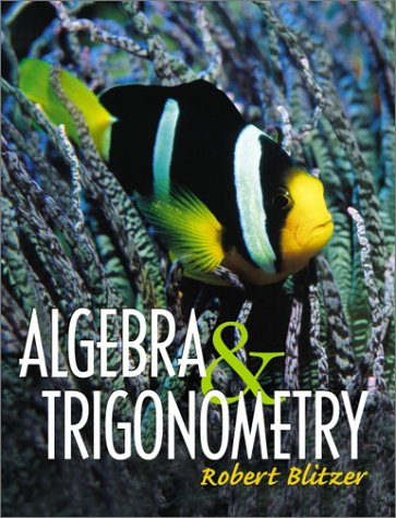 9780130893321: Algebra and Trigonometry