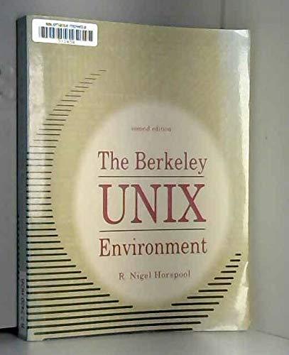 9780130893680: The Berkeley Unix Environment