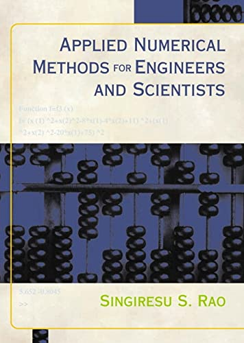 9780130894809: Applied Numerical Methods for Engineers and Scientists