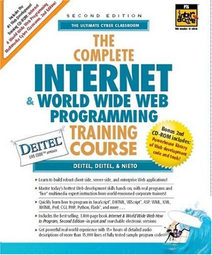 9780130895509: Complete Internet and World Wide Web Programming Training Course, The (2nd Edition) (Prentice Hall Complete Training Courses)