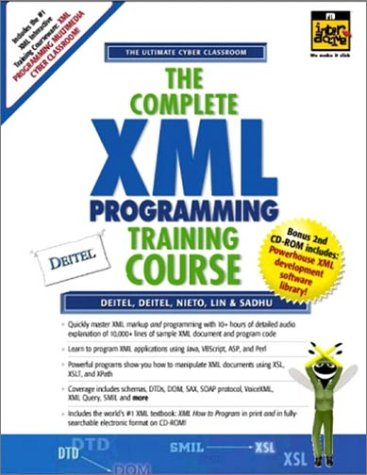 9780130895561: Complete Xml Training Course: Student Edition