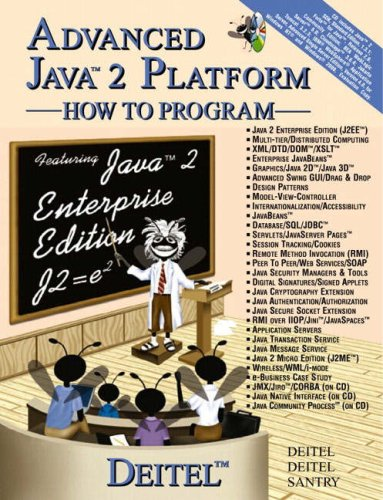 9780130895608: Advanced Java (TM) 2 Platform How to Program