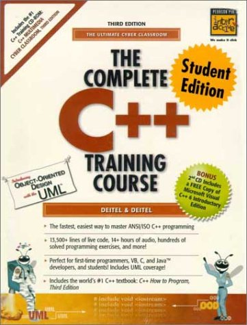 9780130895639: The Complete C++ Training Course, Student Edition