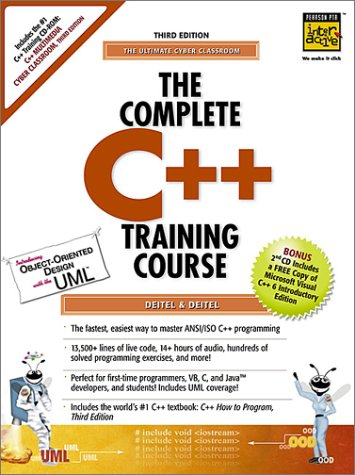 9780130895646: The Complete C++ Training Course: The Ultimate Cyber Classroom (Computer Training Course)