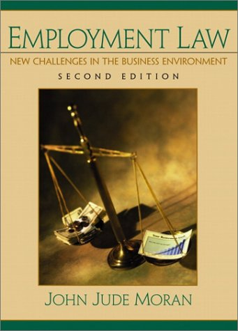 9780130896070: Employment Law (2nd Edition)