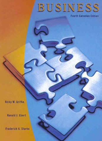 9780130896964: Business ( Updated & Revised Fourth Canadian Edition with CD-ROM )