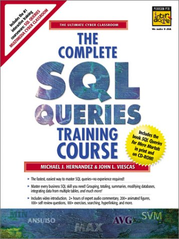 9780130897275: The Complete SQL Queries Training Course