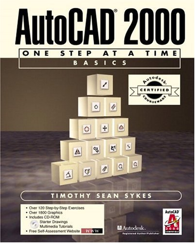 9780130897336: ACC Version-AutoCAD(R) 2000: One Step at a Time-Basics