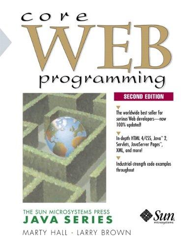 9780130897930: Core Web Programming (2nd Edition)