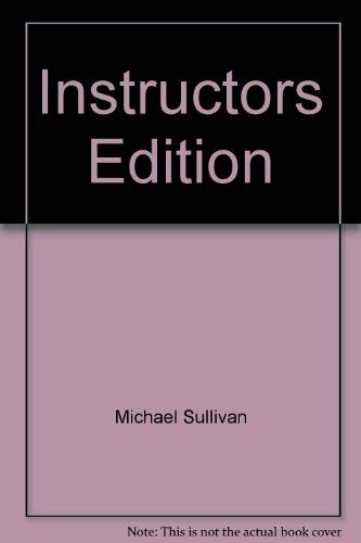 9780130899262: Instructors Edition