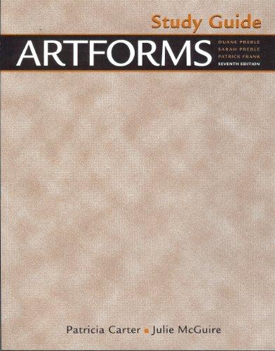 9780130899859: Artforms: Study Guide