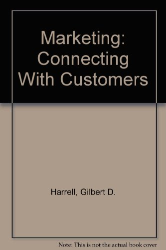 9780130900982: Marketing: Connecting With Customers