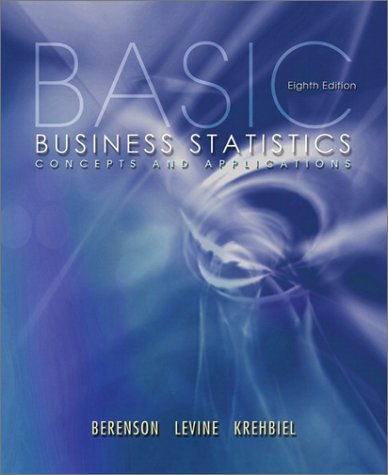 9780130903006: Basic Business Statistics: Concepts and Applications (8th Edition)