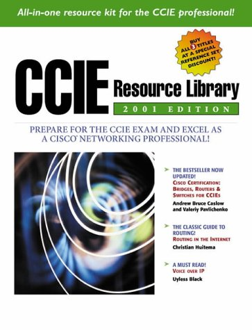 "9780130903075: CCIE Resource Library 2001: ""Cisco Certification"", ""Routing in the Internet"", ""Voice Over IP"""