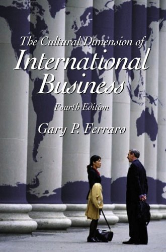 9780130903273: The Cultural Dimension of International Business