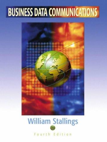 9780130903501: Business Data Communications (International Edition)