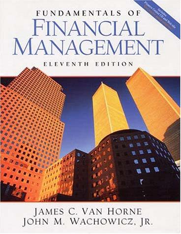 Fundamentals of Financial Management and PH Finance: James C. Van