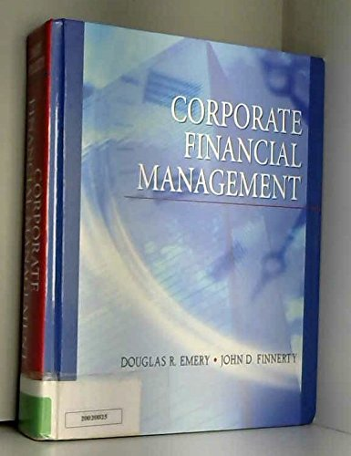 9780130905413: Corporate Financial Management (Book & CD)