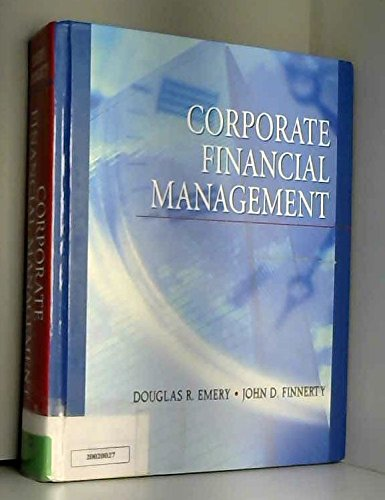9780130905413: Corporate Financial Management