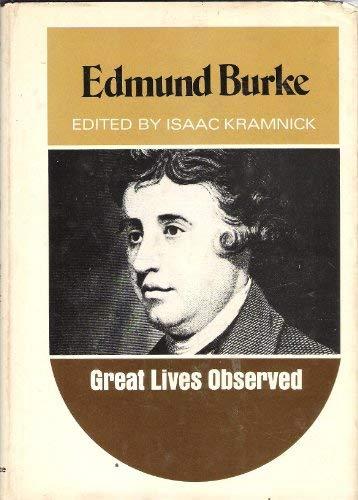 9780130905970: Edmund Burke (Great Lives Observed S.)