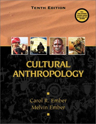 9780130907387: Cultural Anthropology (10th Edition)