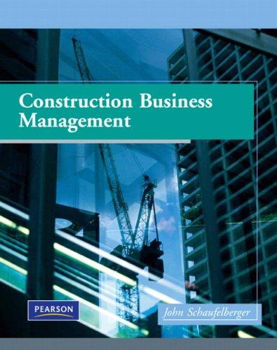 9780130907868: Construction Business Management