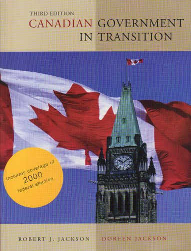 9780130908155: Canadian Government in Transition Cdn